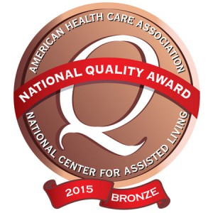 Brinton Woods Post Acute Care Center Receives Bronze National Quality Award