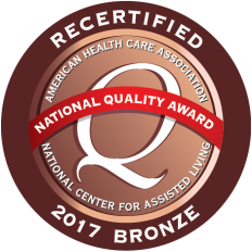 2017 Recipient of the Bronze Commitment to Quality Award